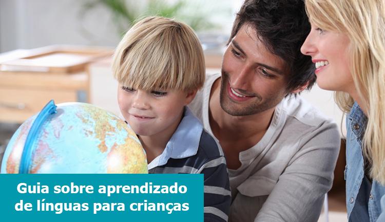 Guia sobre aprendizado de línguas para crianças